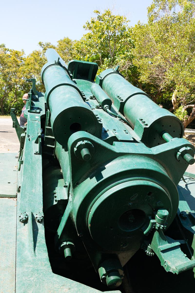Battery Hearn on Corregidor Island