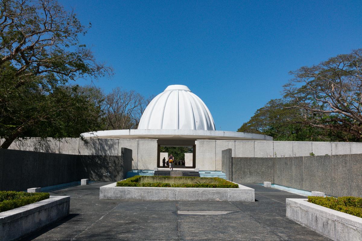 Pacific War Memorial on Corregidor Island