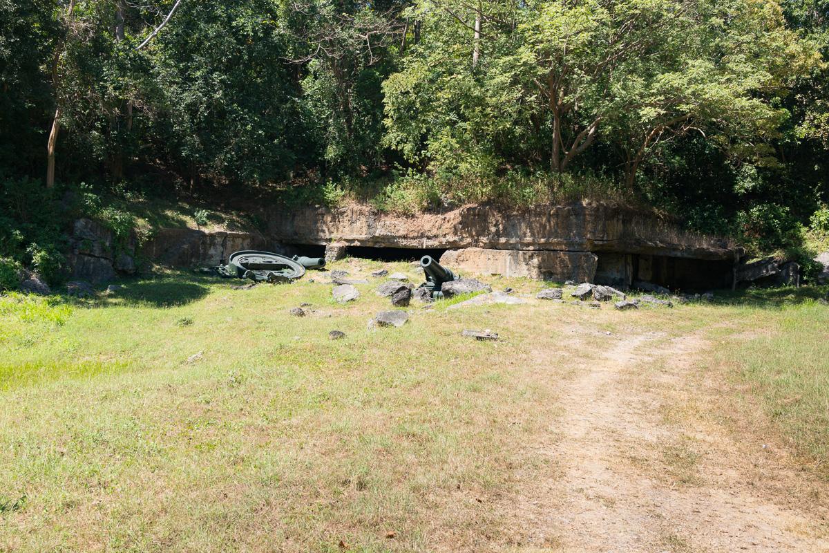 Battery Geary on Corregidor Island
