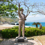 Douglas MacArthur on Corregidor Island
