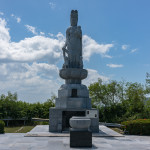 Monument to the Pacific war dead in Philippines on Corregidor Island