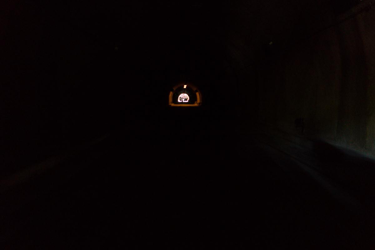 Inside the Malinta Tunnel on Corregidor Island