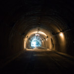 Inside the Malinta Tunnel on Corregidor Island
