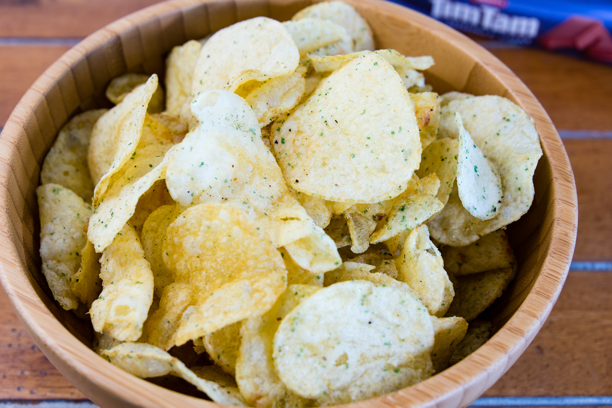 Gary Lum Lime and pepper chips