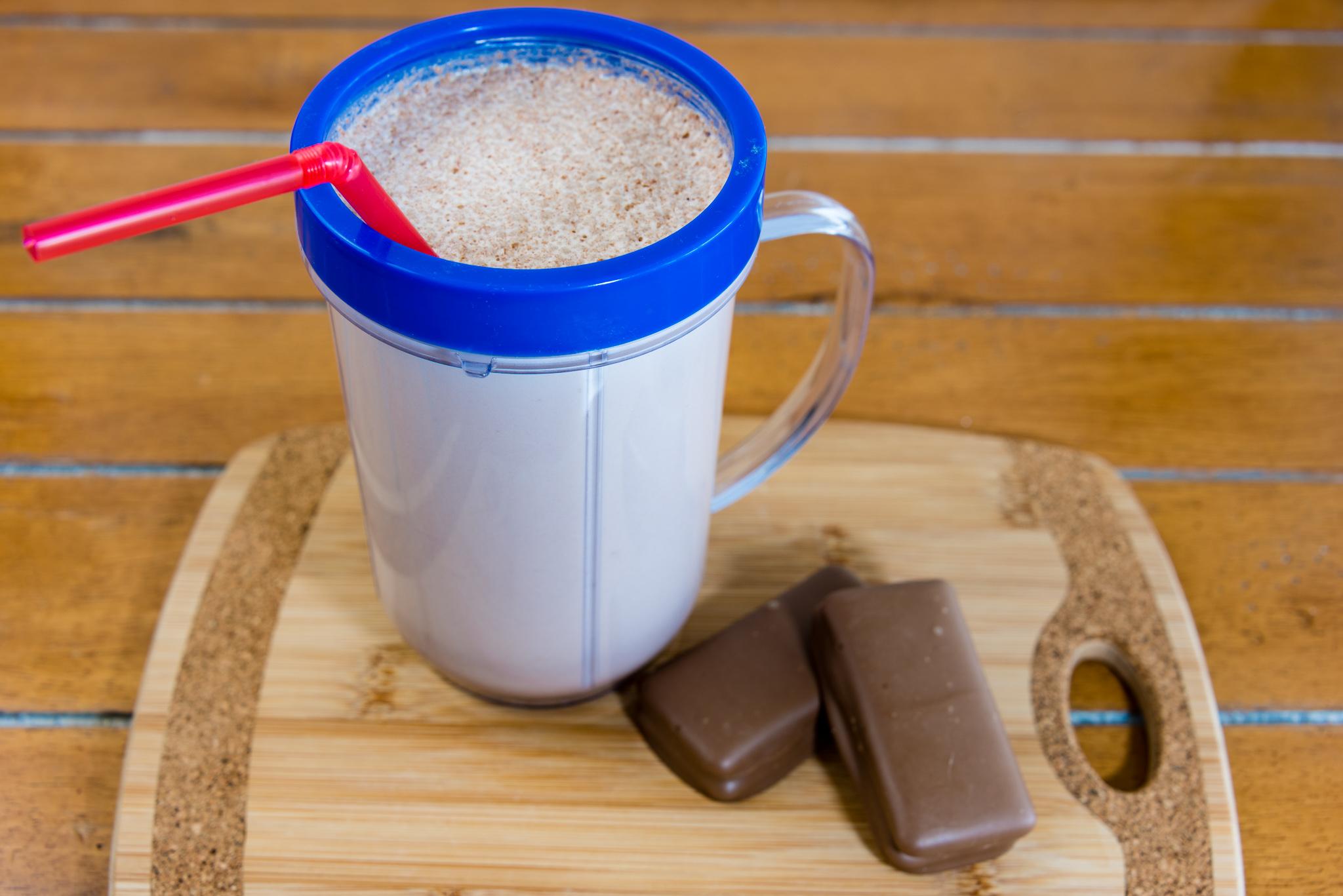 Gary Lum Chocolate milo TimTam milk with double coat TimTams