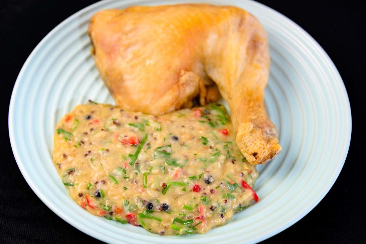 Chicken Maryland and chicken beef chilli Yumottto
