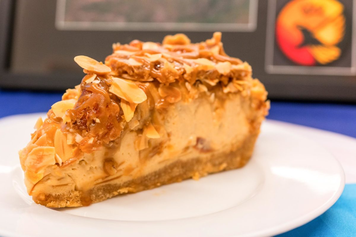 Caramel almond toffee crunch cheesecake from Urban Bean Espresso Bar