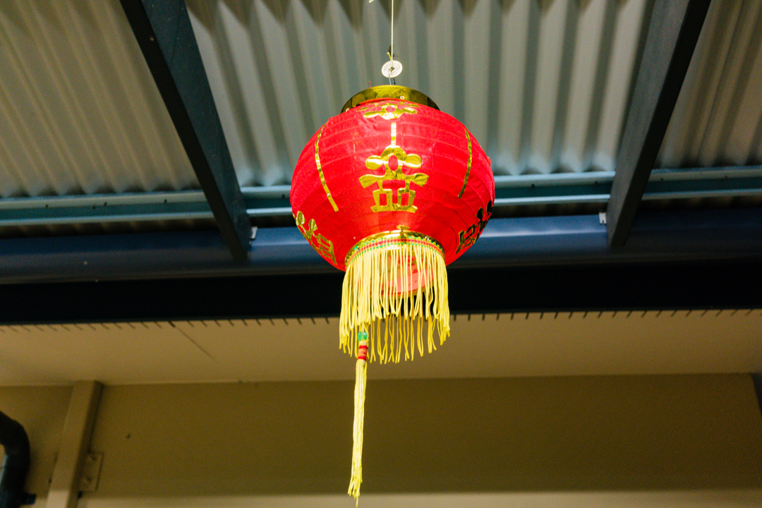 Chinese Lantern made by the birthday girl
