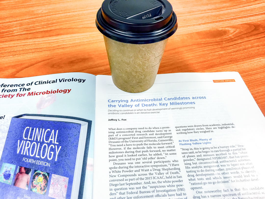 Coffee and medical countermeasures New antimicrobials