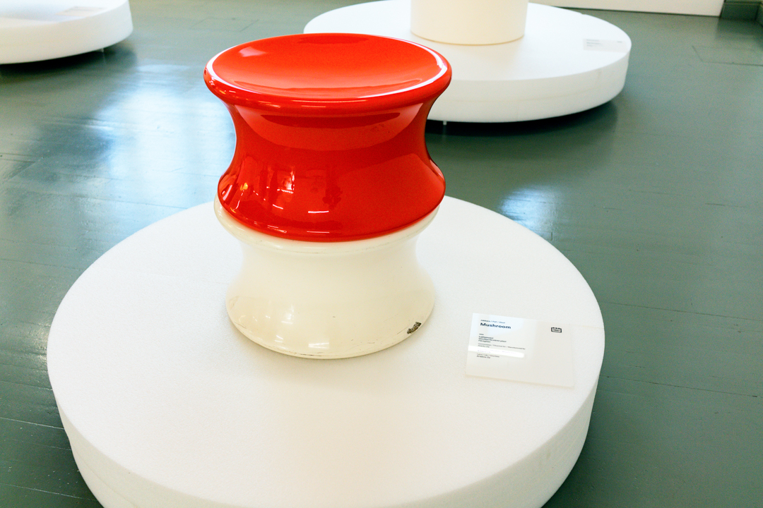 The Mushroom at the Helsinki Design Museum