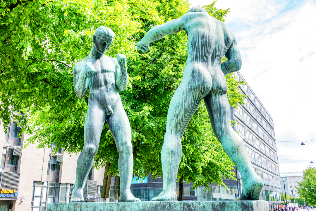 Public art and pubic art in Helsinki