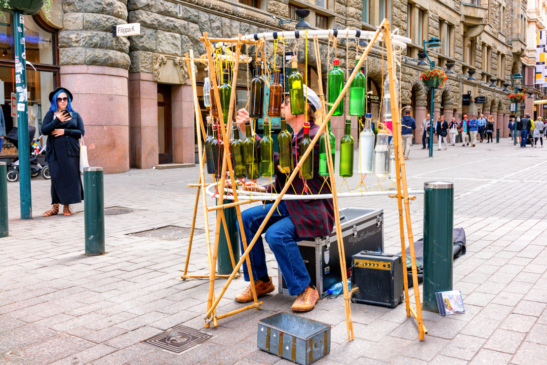 Performance art in Helsinki