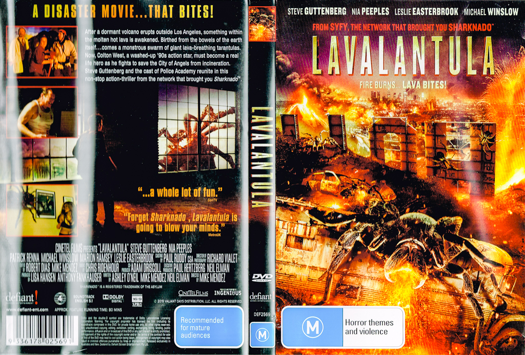 Saturday viewing. Lavalantula