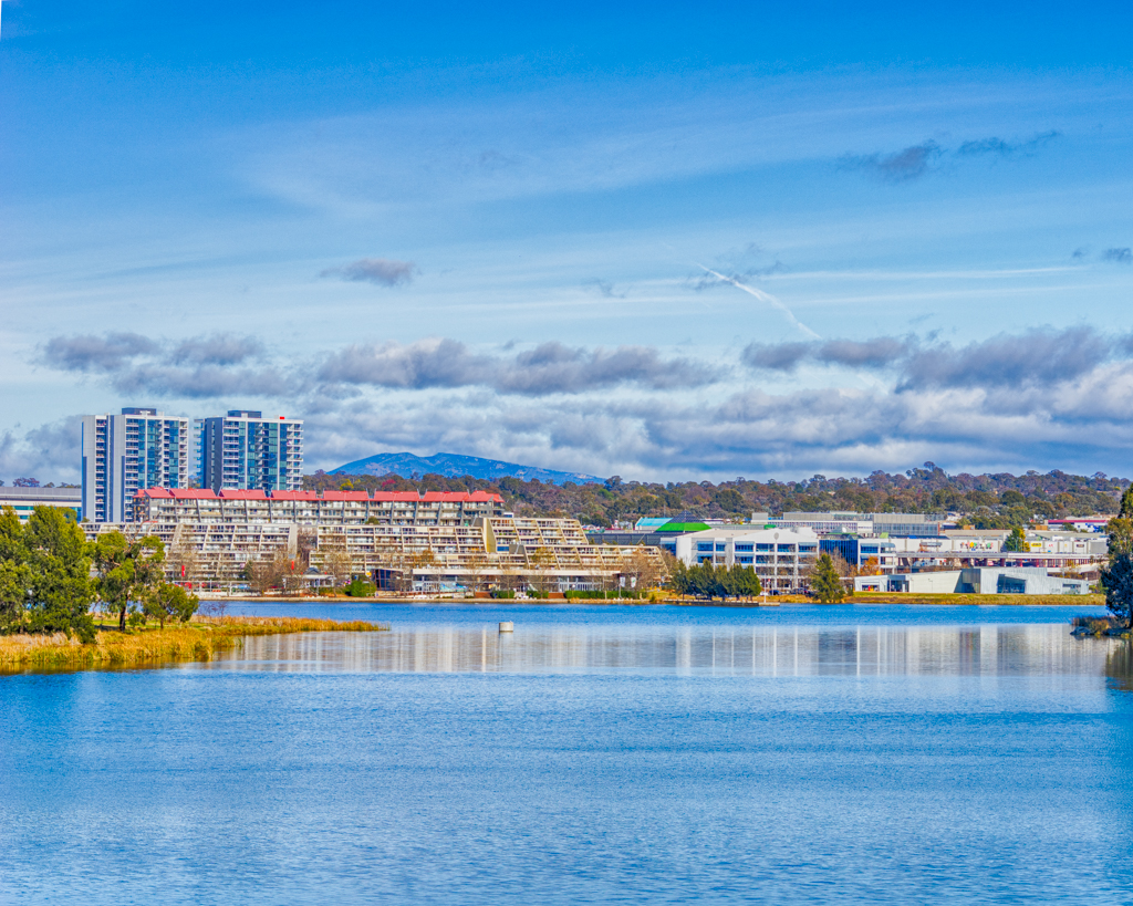 Lake Ginninderra on Saturday 2 July 2016 Google Nik Collection HDR