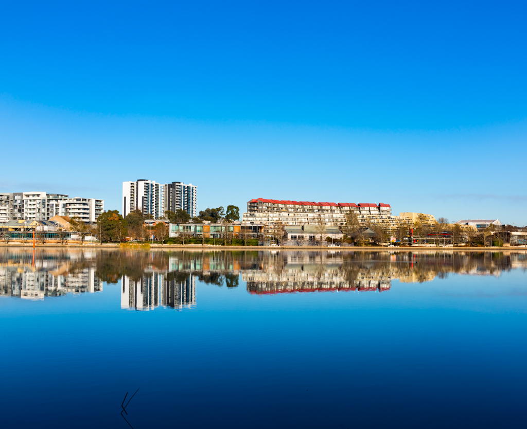 Reflections on Lake Ginninderra