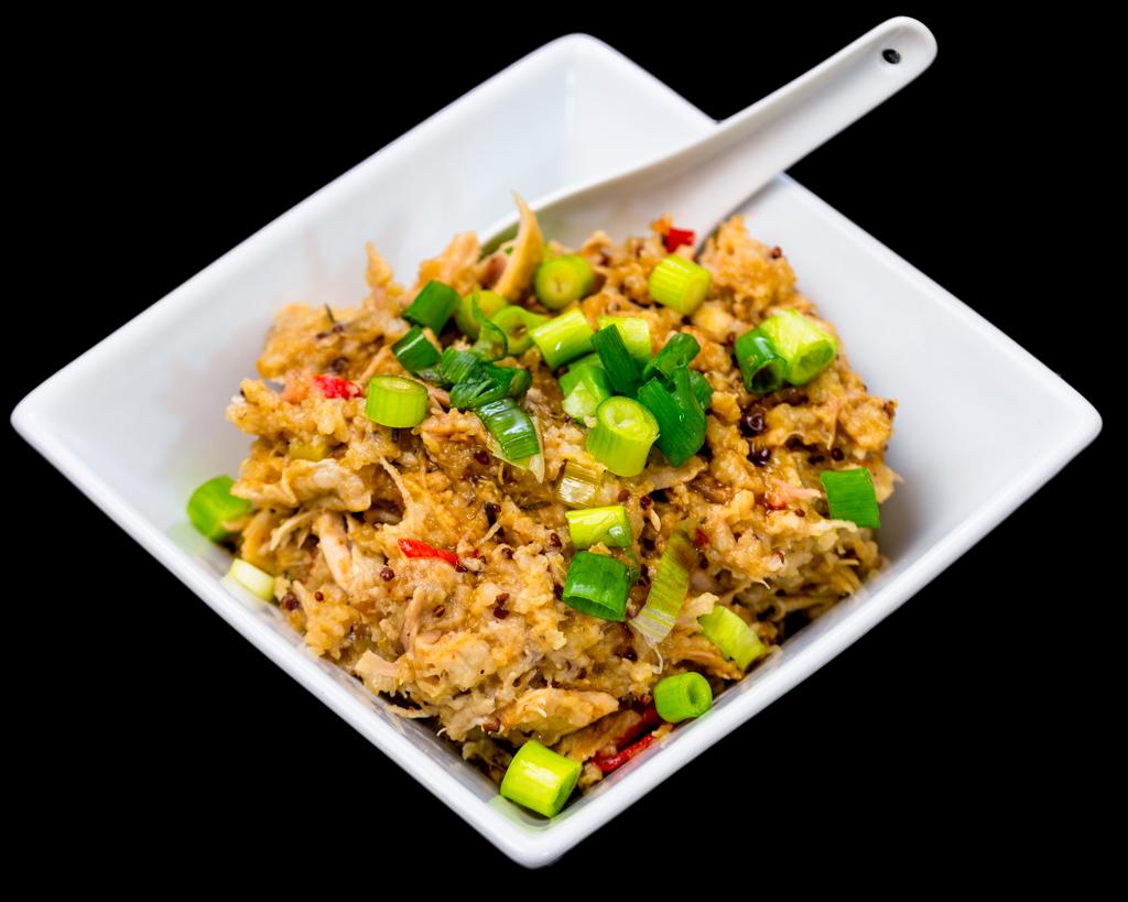 KFC chilli quinoa congee