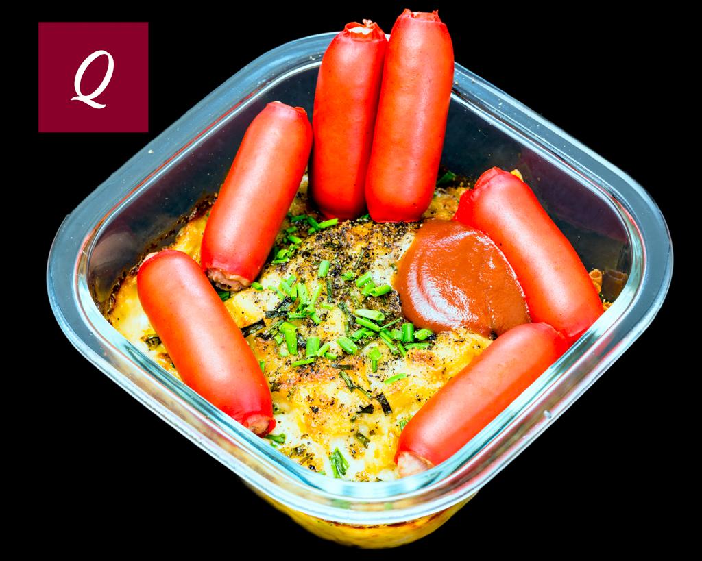 Cheerios with macaroni cheese #footyfood #origin #qlder
