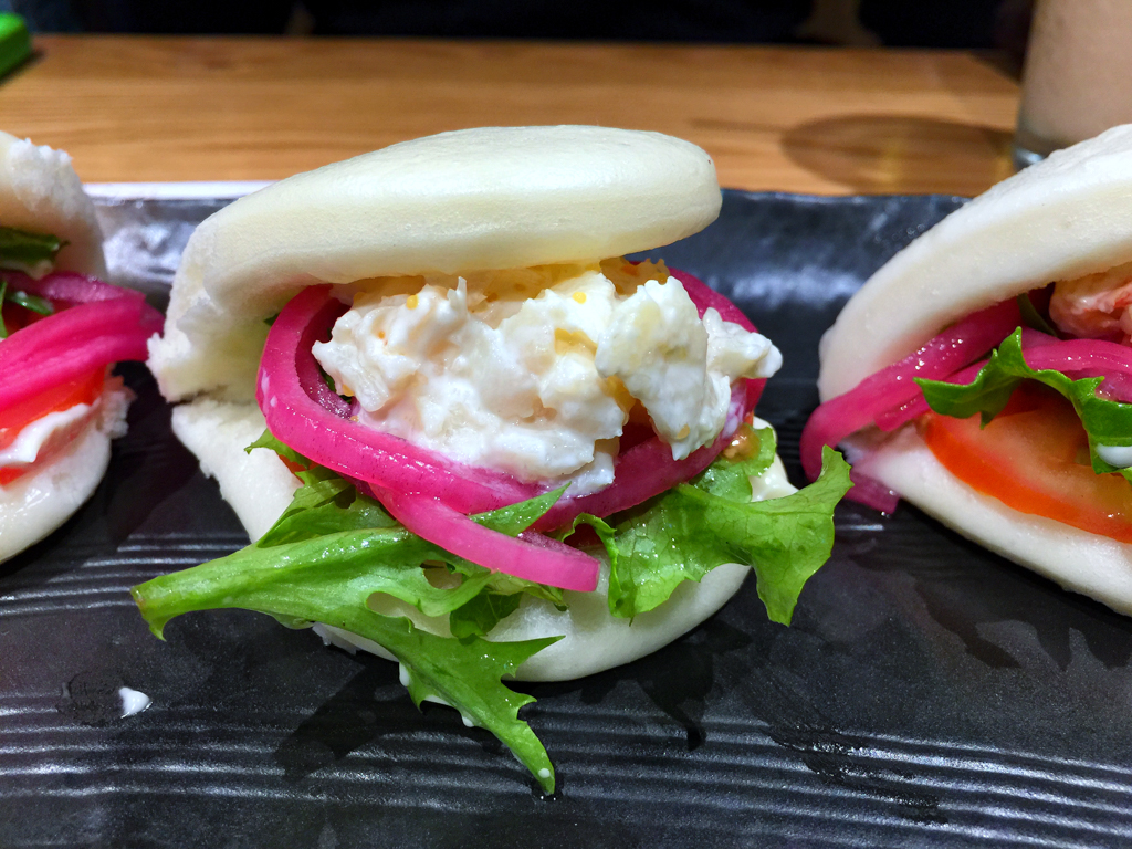 Spanner crab bao from Soi Noodle Bar