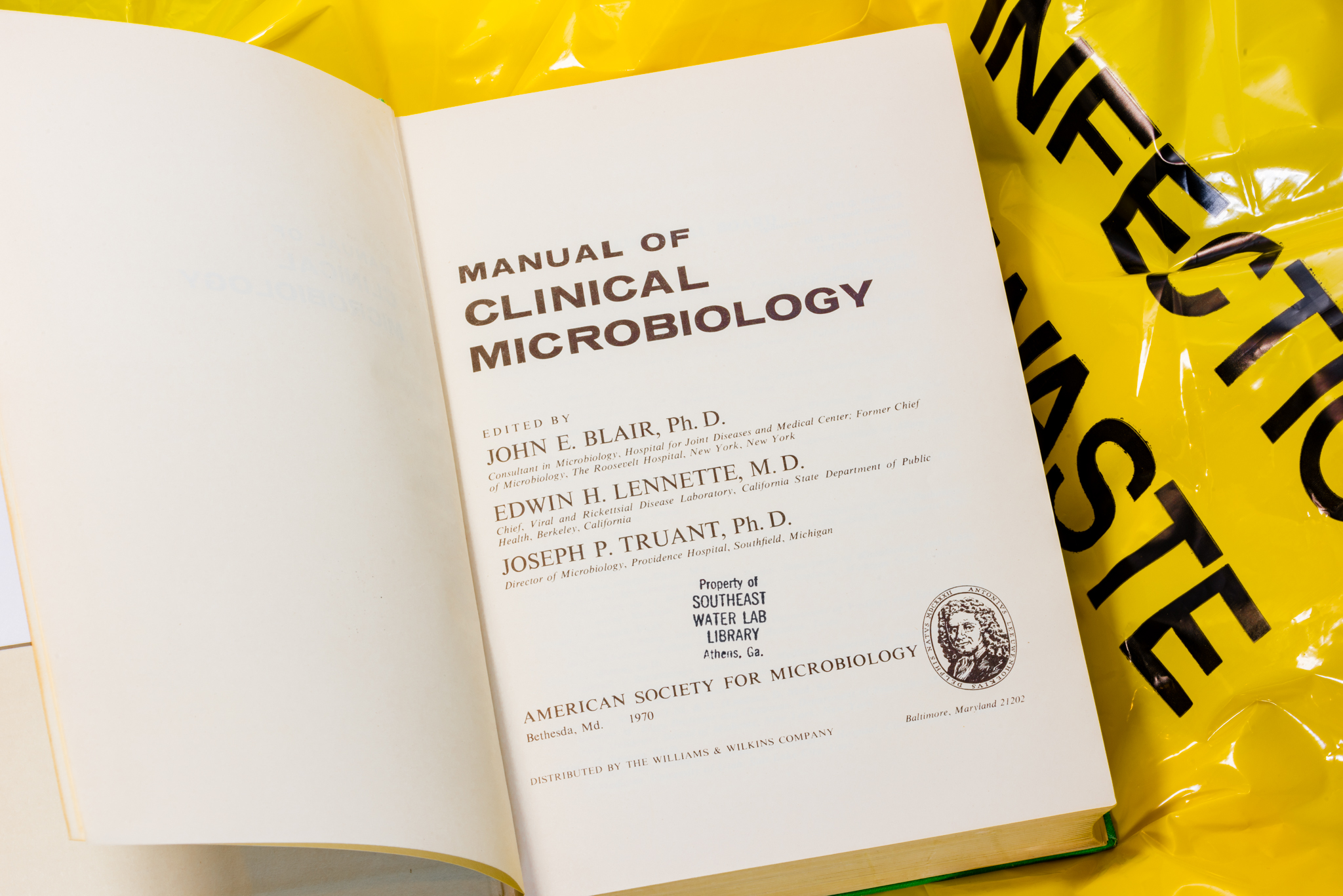 Manual of Clinical Microbiology First edition