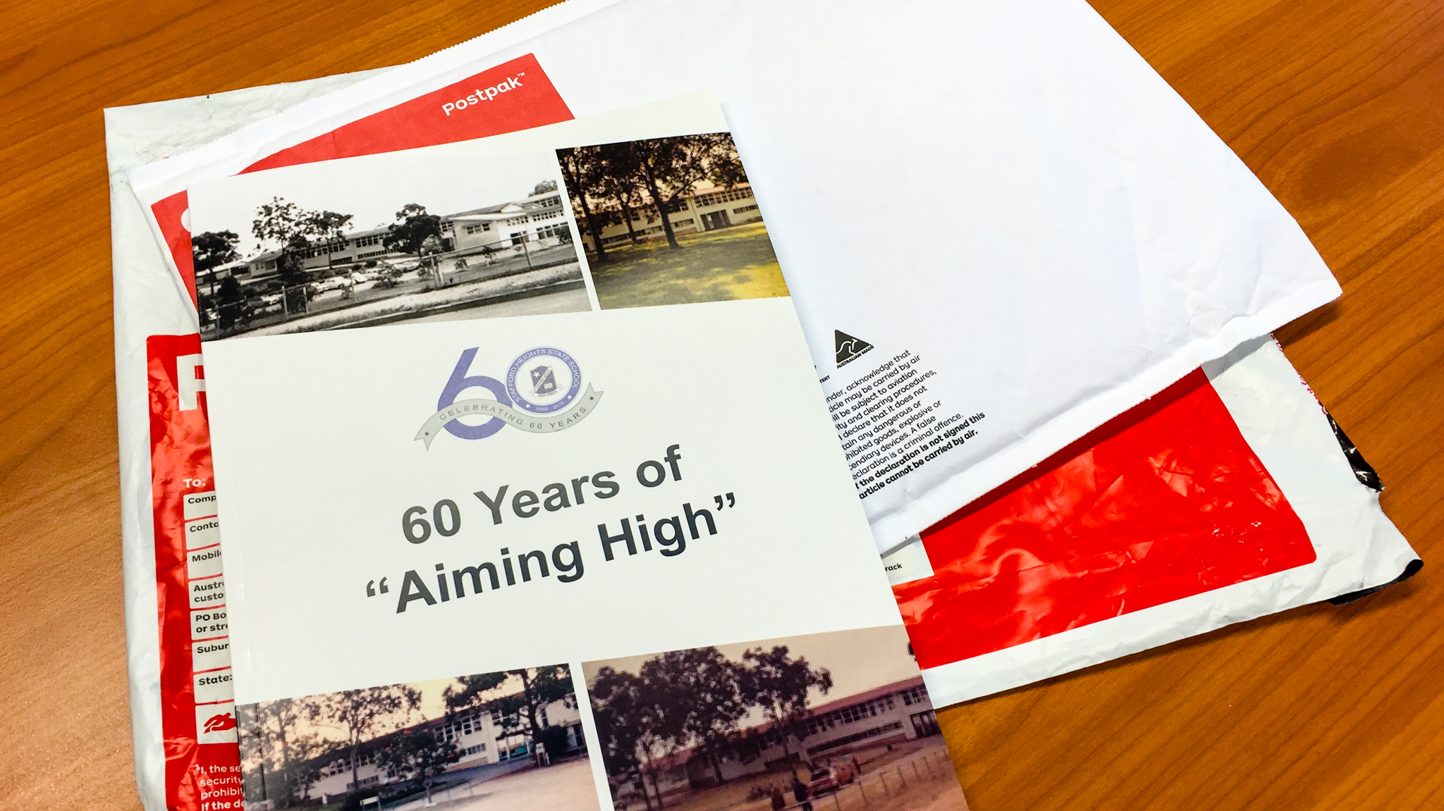 "60 years of ""Aiming High"" at SHSS Gary Lum"
