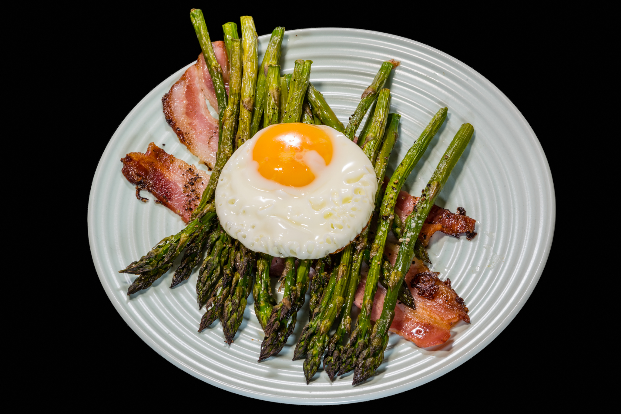 Bacon and egg with Australian Asparagus Gary Lum