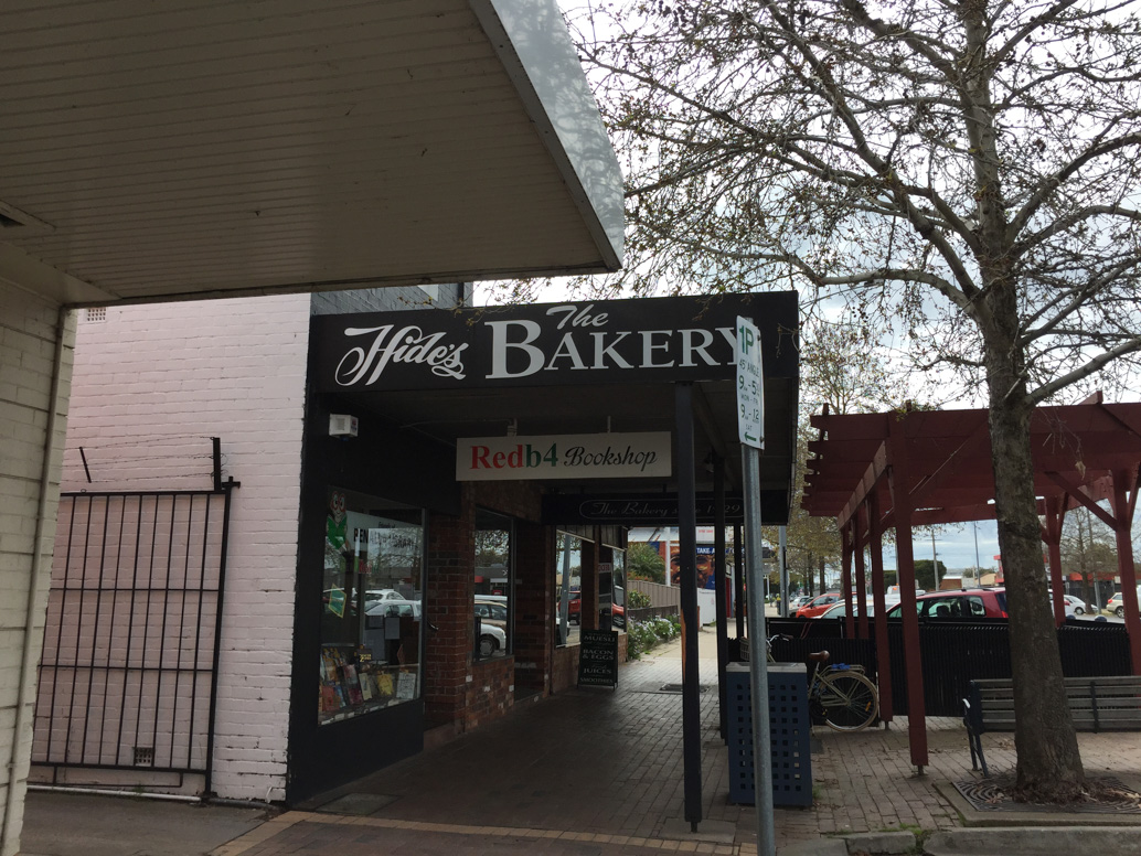 Hides Bakery road trip to Bendigo
