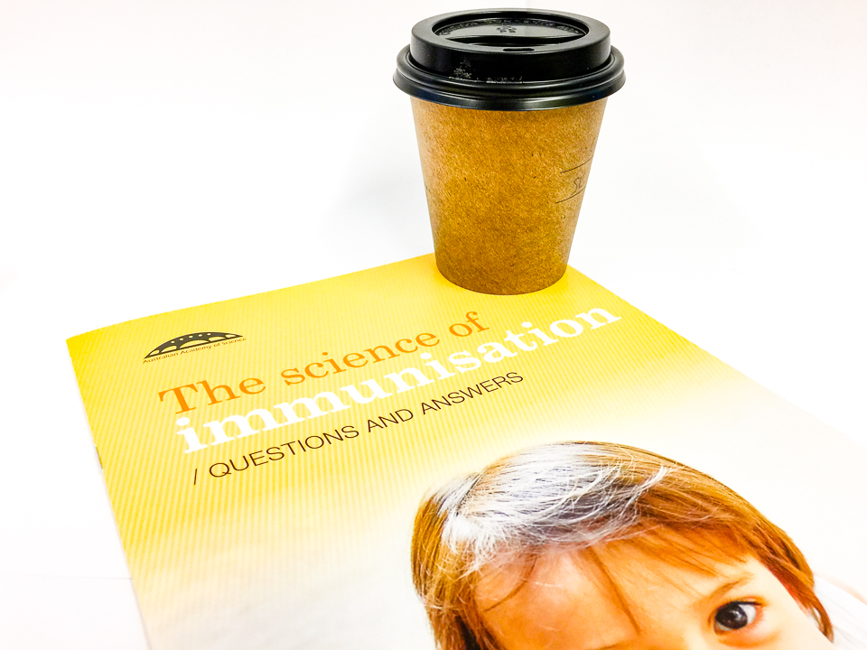 I really needed a good #coffee from Urban Bean Espresso Bar and a good read about the science of immunisation #coffee #immunisation #vaccination #science #vaccines #truth #medicine Gary Lum
