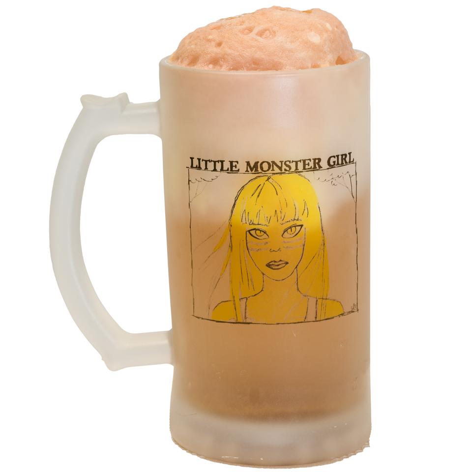 Ginger beer spider (float) with salted caramel Little Monster Girl Jennifer Paetsch Gary Lum