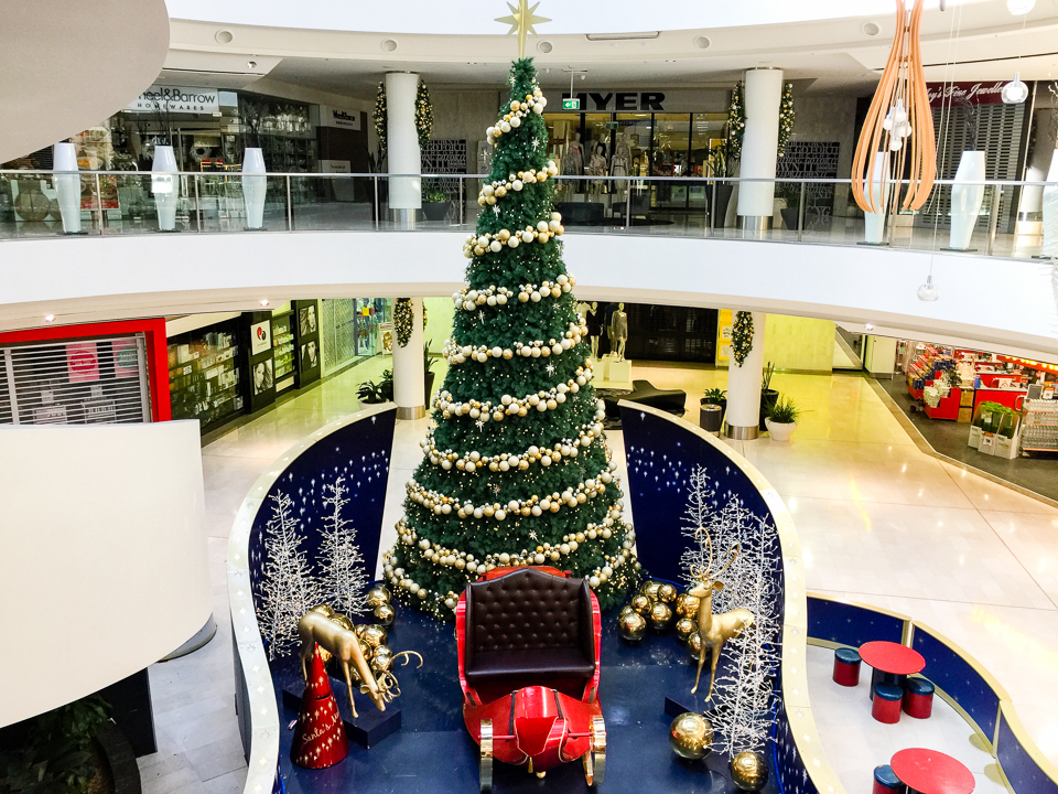 Christmas tree at Westfield Belconnen. It seems way too early for this. Gary Lum