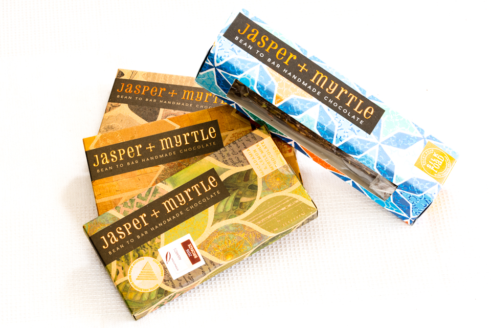 Award winning Jasper and Myrtle Chocolates Gary Lum