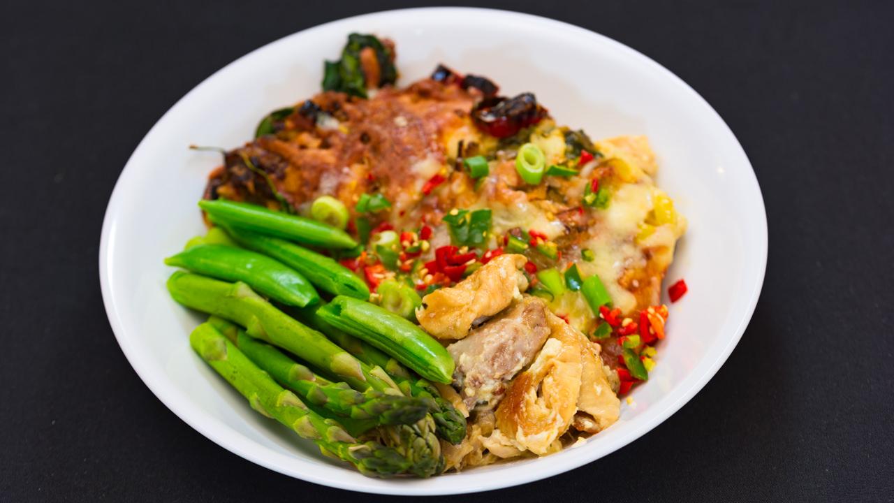 Ramen noodles chicken casserole Gary Lum