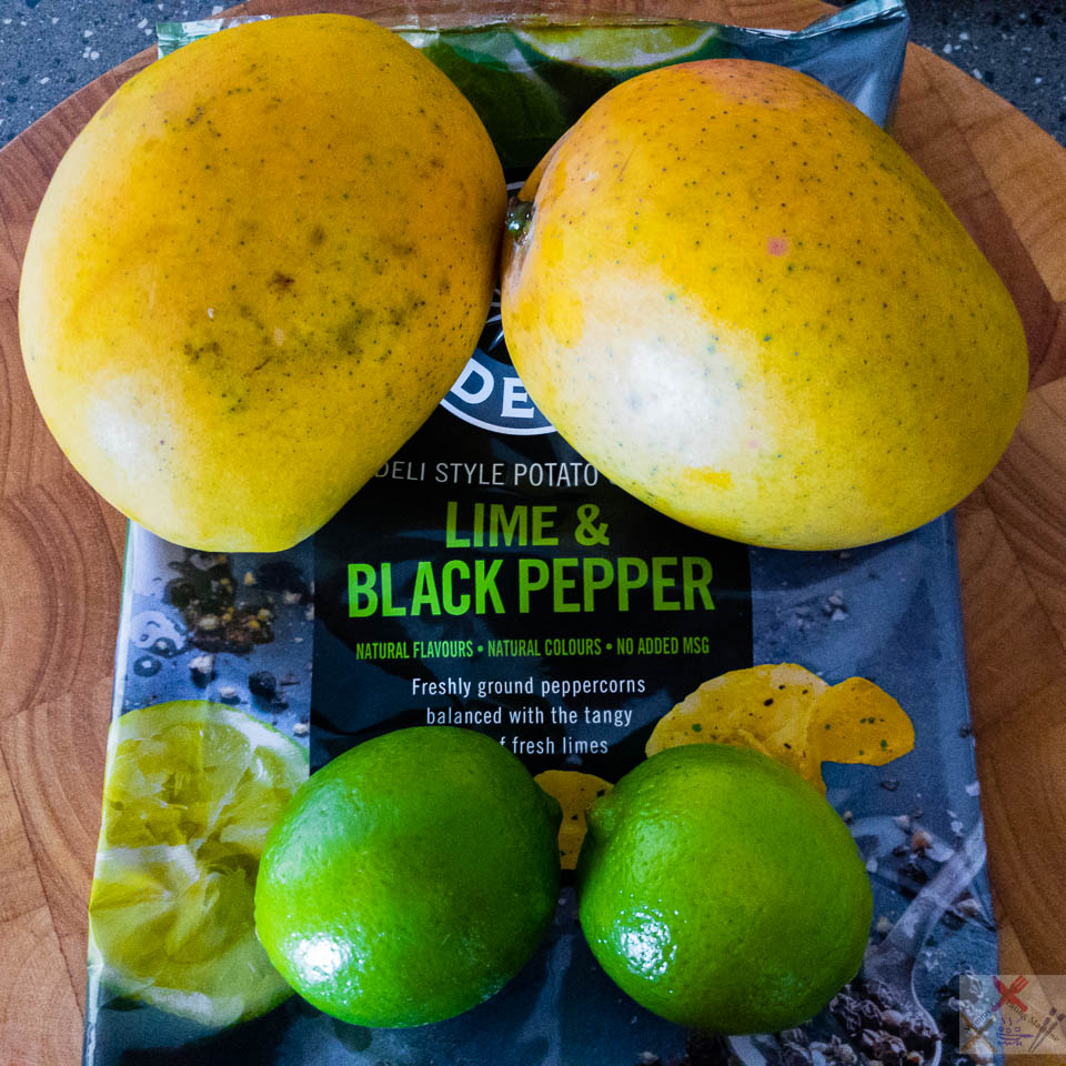 Happy Australia day 🇦🇺🌏 My idea of green and gold! Queensland mangoes and lime Australia Day 2017 Gary Lum