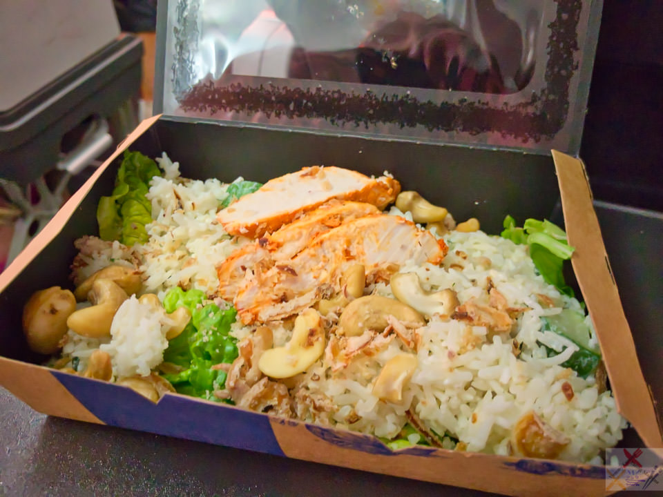 Chicken salad and rice Gary Lum