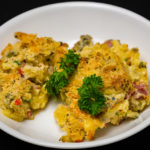 Super hot and spicy home smoked and cured bacon macaroni and cheese Gary Lum