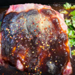 Beef short ribs in barbecue sauce marinade Easter beef short ribs Gary Lum