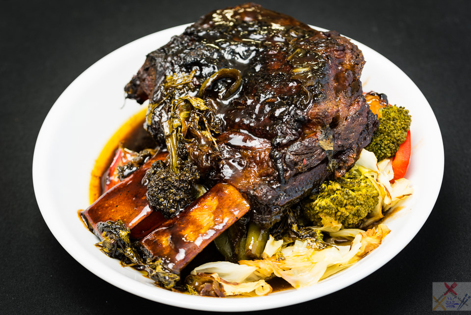 Good Friday slowly roasted short beef ribs with cabbage and broccoli Easter beef short ribs Gary Lum