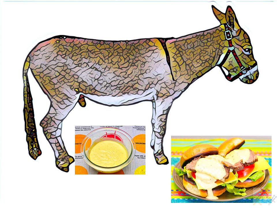 Donkey sauce Gary Lum
