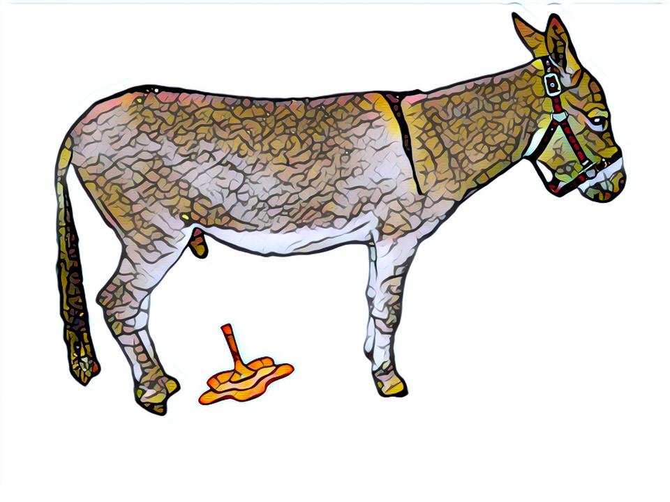 Donkey sauce hee-haw Gary Lum
