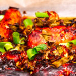Chilli chicken wings out of the oven with ginger, honey and soy Gary Lum