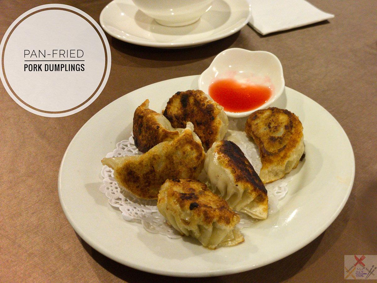 Pan-fried pork dumplings at Taste of China Gary Lum