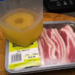 Pork rashers and pineapple Gary Lum