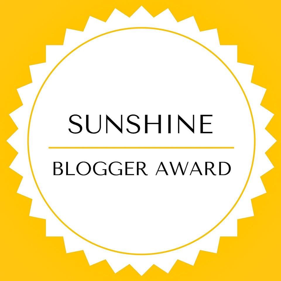 Sunshine blogger award Gary Lum