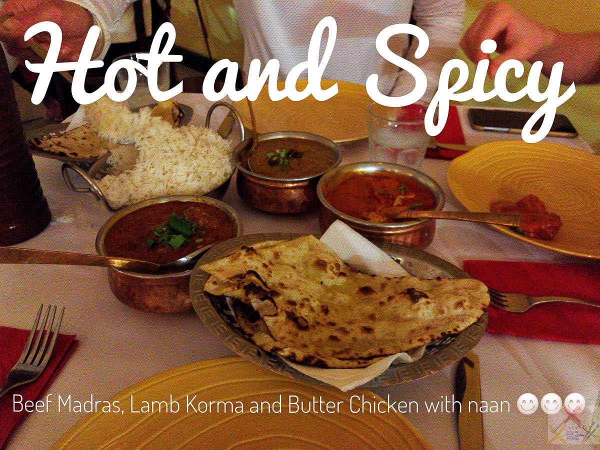 Beef Madras, Lamb Korma, and Butter Chicken from the Tandoori Oven, Cairns Gary Lum