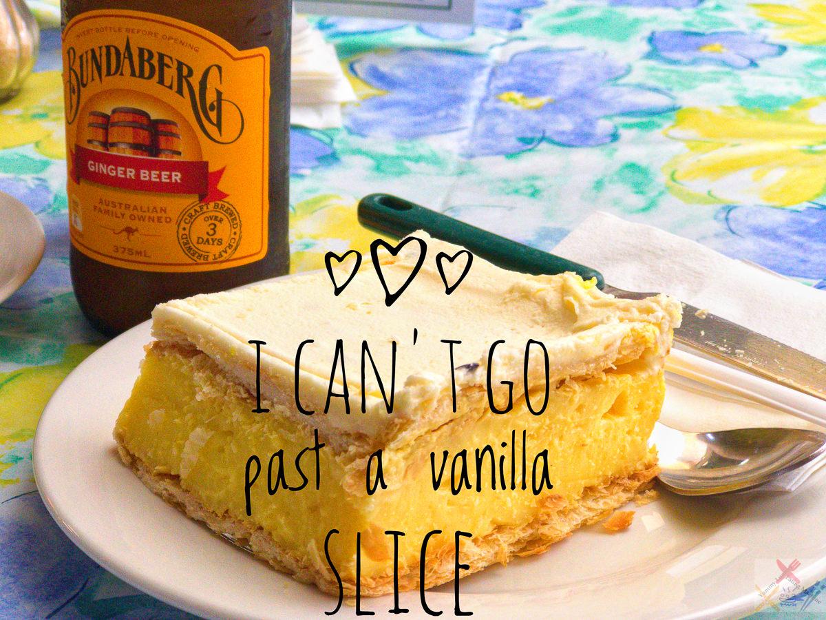 Vanilla Slice at Kuranda Markets Gary Lum