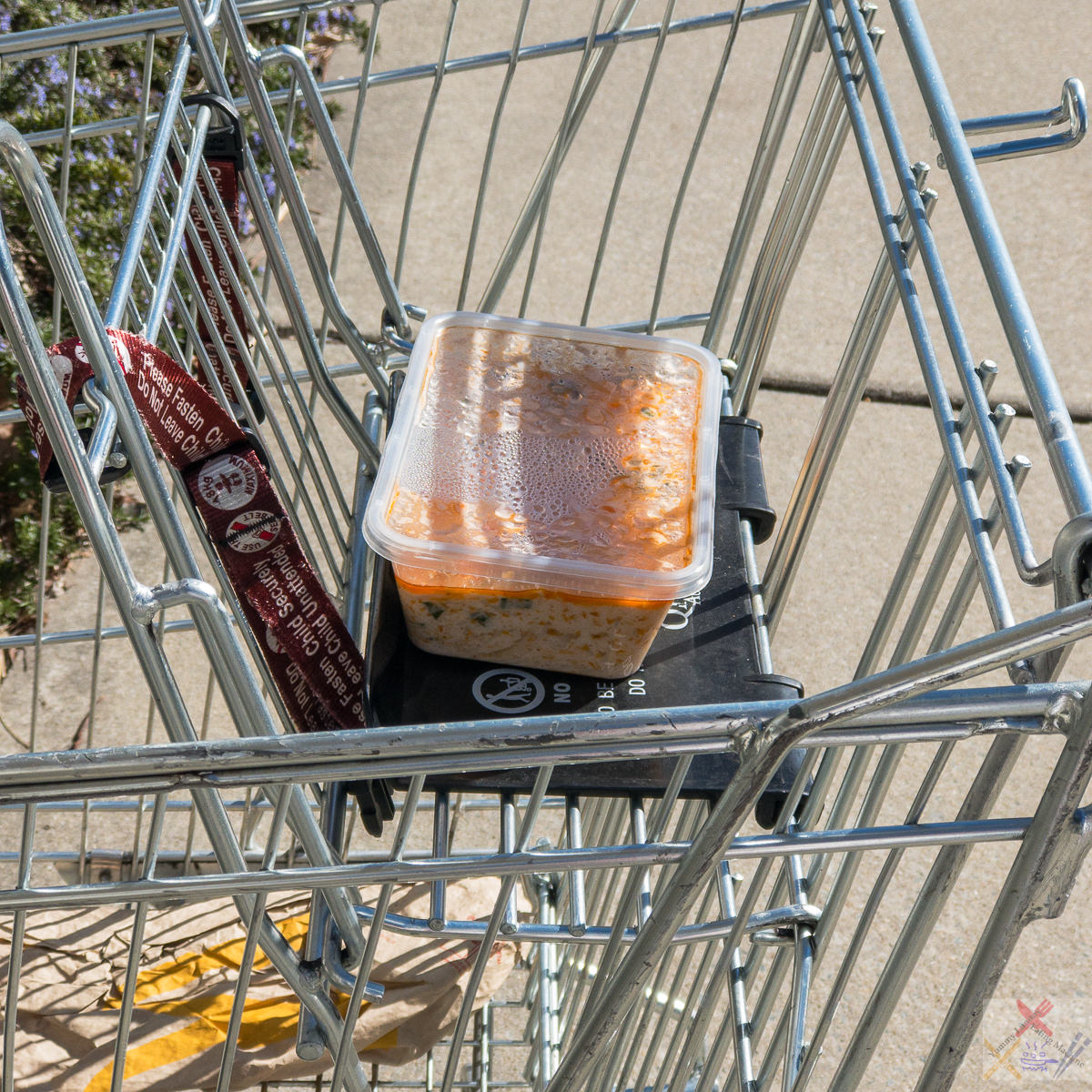 Abandoned trolley with abandoned curry Gary Lum