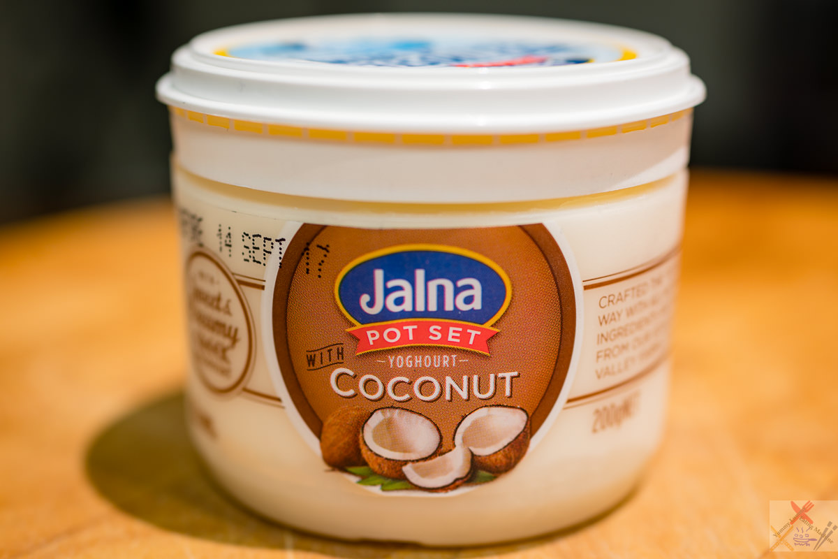 Coconut yoghurt Gary Lum