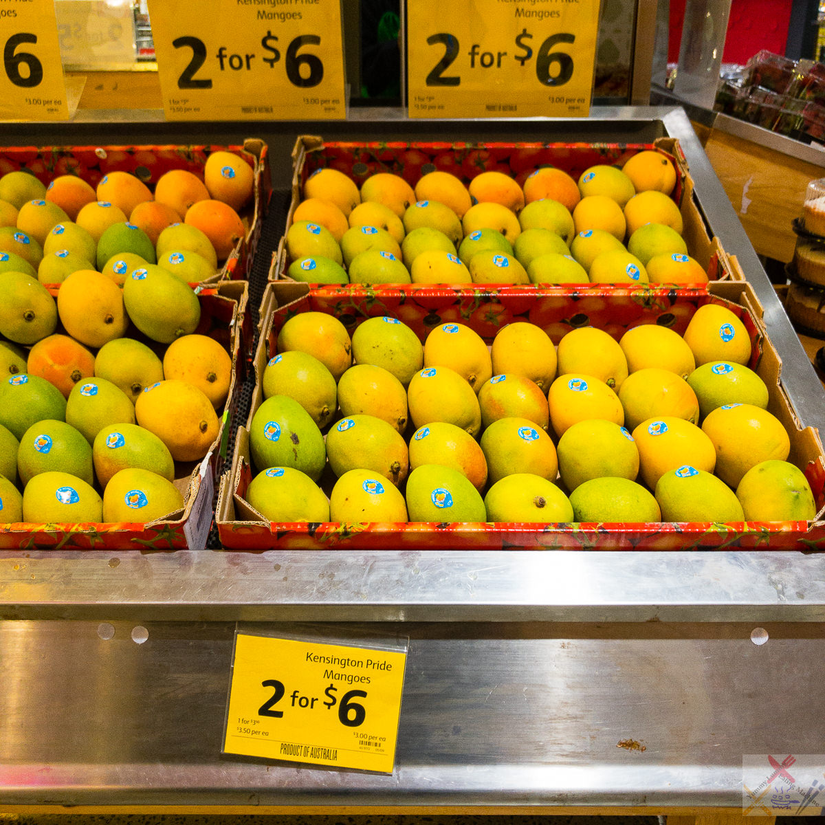 Kensington Pride mangoes 2 for $6 Gary Lum