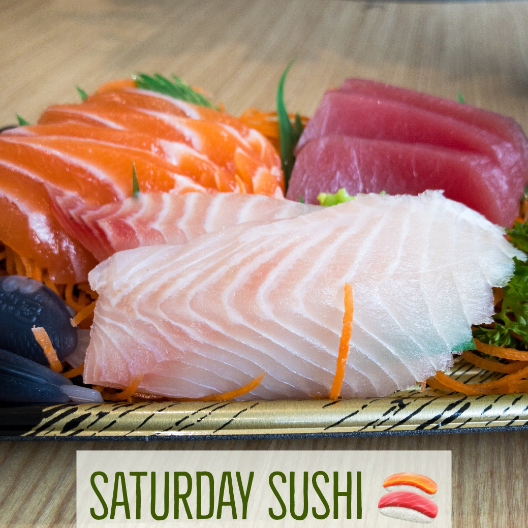 Saturday Sushi Gary Lum