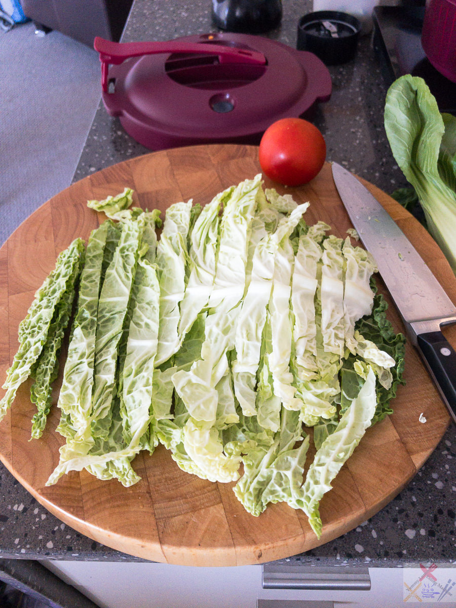 Cabbage and tomato Pressure Cooker Gary Lum