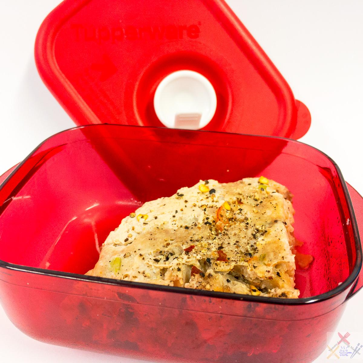 Yuk biang in Tupperware® Pressure cooker Gary Lum